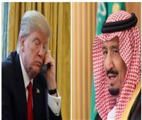 خادم الحرمين يبحث مع الرئيس الأمريكي ضمان استقرار سوق النفط