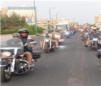 وزارة الشباب والرياضة ترعى رالي للدراجات النارية بالغردقة