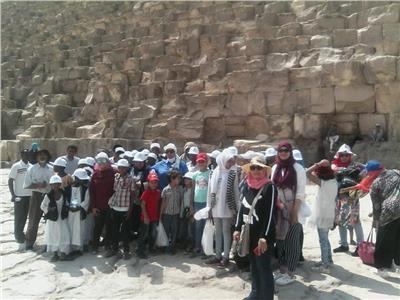 صور| «قصور الثقافة» تنظم زيارة ميدانية لأطفال حلايب وشلاتين لمجمع الأديان