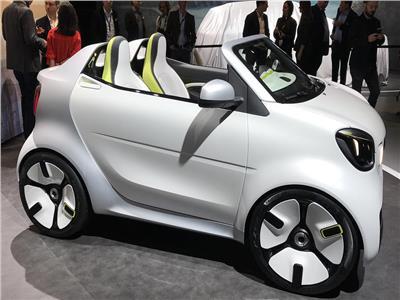 صور| «سمارت» تكشف عن سيارة كهربائية جديدة