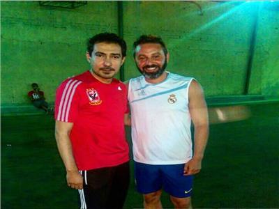 صورة| بركات يعلن دعمه لحازم إمام بعد أزمته مع مرتضى منصور