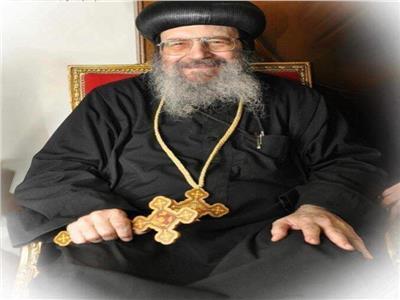 «تواضروس» ينوب عدد من الأساقفة للصلاة علي جثمان الانبا بيشوي