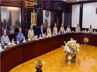 بسام راضي: الرئيس السيسى يجتمع بالمجلس الأعلى للقوات المسلحة
