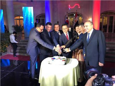 السفير الكوري يشكر الرئيس السيسي على تهنئته لبلاده بعيدها الوطني