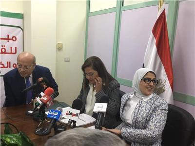وزيرة الصحة: عدد المترددين على مراكز مسح «فيروس سي» 700 ألف مواطن