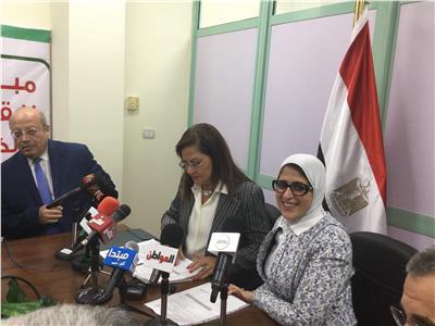 وزيرة الصحة: إقبال 5 مواطنين كل ثانية على مراكز كشف «فيروس سي»