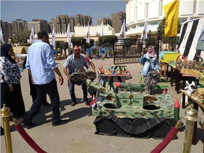 بالصور| استعدادات «تعليم القاهرة» للمشاركة في احتفالات نصر أكتوبر