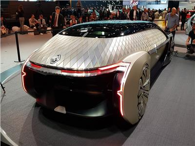 فيديو وصور| رينو EZ-Pro .. مركبة فضاء بمعرض باريس الدولي للسيارات