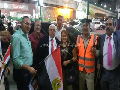 المصريين الأحرار يحتفل بنصر أكتوبر في شوارع أسيوط