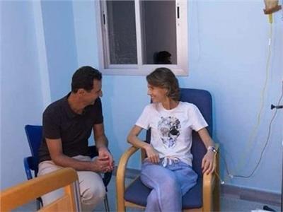 شاهد| أحدث صور لـ«أسماء الأسد» بعد إعلان إصابتها بسرطان الثدي