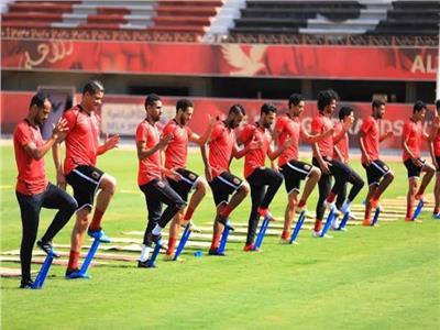 الأهلي يواصل المران دون راحة استعدادًا للترسانة في كأس مصر