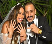 صور| حفل زفاف دياب وهاجر الإبياري