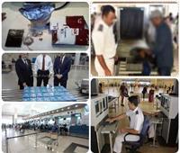 تعرف على جهود أمن مطار القاهرة في مكافحة التهريب