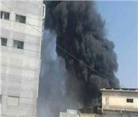 حريق بـ« مبنى هيئة كهرباء الريف» والدفع بسيارات الإطفاء والإسعاف