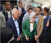 وزيرة الصحة توجه بزيادة الأطباء في نقاط مبادرة فيروس سي ببورسعيد