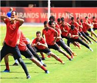 سداسي الأوليمبي يشارك في مران الأهلي