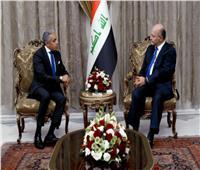 السفير المصري ببغداد ينقل دعوة السيسي لرئيس العراق الجديد بزيارة القاهرة