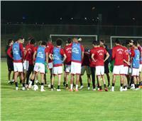 «غزال» في تدريبات المنتخب.. و«صلاح» ينضم الليلة