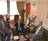 وزير قطاع الأعمال العام يستقبل وزير الدولة السوداني لبحث التعاون المشترك