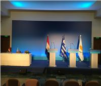 توقيع مذكرات تفاهم واتفاقيات تعاون بين مصر وقبرص واليونان