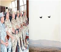 وزير الدفاع يشهد المناورة التكتيكية بالذخيرة الحية «نصر 14»
