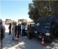 مدير أمن الفيوم يتفقد مراكز الشرطة في زيارات مفاجئة