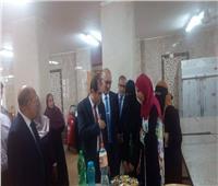 صور| نائب رئيس جامعة الأزهر يتفقد كلية الدراسات الإسلامية للبنات بكفر الشيخ