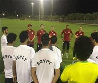 المنتخب الأولمبي يتدرب في الإمارات الليلة