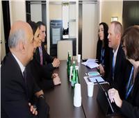 وزيرة الاستثمار تبحث مع نائب مساعد وزير الخزانة الأمريكي زيادة الاستثمارات في مصر
