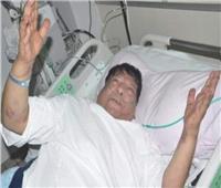 حقيقة تداول نشطاء الفيسبوك لـ صور شعبان عبد الرحيم في المستشفي