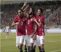 انطلاق الشوط الثاني من مباراة مصر وسوازيلاند