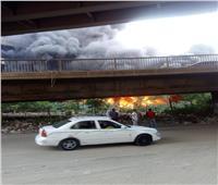 قرار من النيابة العامة في حريق مخزن حي الهرم