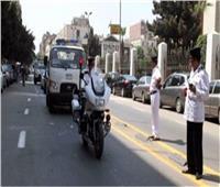حملات مرورية بالشوارع والميادين الرئيسية في الجيزة