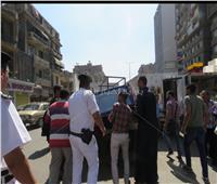 صور.. حملات أمنية لرفع الإشغالات من شوارع القاهرة
