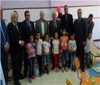 فودة يفتتح المدرسة المصرية اليابانية بطور سيناء
