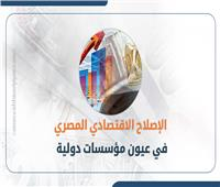 إنفوجراف| الإصلاح الاقتصادي المصري في عيون مؤسسات دولية
