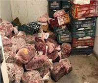 ضبط 17 طنًا من اللحوم والدواجن الفاسدة بالعبور