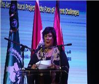 «عبد الدايم» تلقي كلمة «السيسي» في افتتاح وزراء الثقافة العرب
