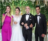 صور| جنات وصافينار تشعلان زفاف «شادي وندا»