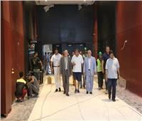 «فودة» يتفقد  الأعمال النهائية بقاعة المؤتمرات الدولية الجديدة بشرم الشيخ