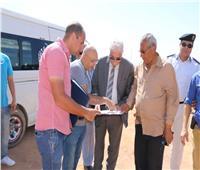 فوده يتفقد أعمال إنشاء النصب التذكاري وميدان الصداقة الدولية بشرم الشيخ
