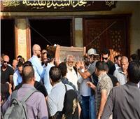 صور| تشيع جثمان الفنان أحمد عبد الوارث من مسجد السيدة نفيسة