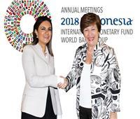عاجل| سحر نصر: 3 مليارات دولار تمويل جديد من البنك الدولي لمصر خلال الشهور المقبلة