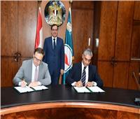 وزير البترول يشهد توقيع عقد تمويل مشروع إنتاج الميثانول