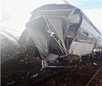 فيديو| 4 قتلى وعشرات الجرحى في حادث انقلاب قطار بالمغرب
