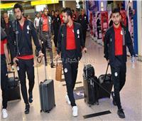 المنتخب الوطني يصل مطار القاهرة بعد فوزه على نظيره السوازيلاندي