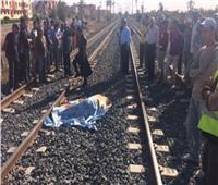 وفاة وإصابة شخصين إصطدم بهم قطار محطة سيدى جابر بالإسكندرية