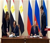 فيديو| «السيسى وبوتين» يوقعان اتفاقية الشراكة الشاملة والتعاون الاستراتيجي