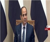 السيسي: إعلان 2020 عامًا ثقافيا بين مصر وروسيا