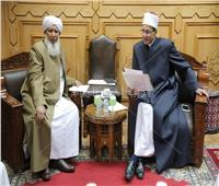 صور| الأزهر يبحث دعم العلاقات العلمية مع جامعة الثقافة السنية بالهند